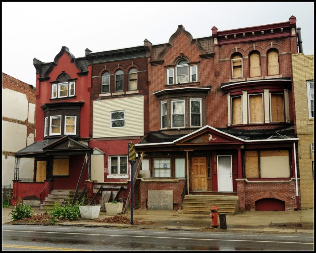 Abandoned Houses in Philly